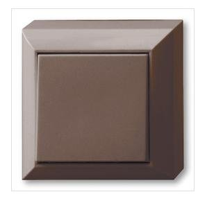 Preisvergleich Produktbild REV Ritter 0511476777 PlanoLuxe AP Aus- / Wechselschalter,  braun