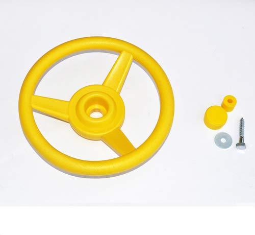 GK Lenkrad/Steuerrad für Spielanlagen, gelb