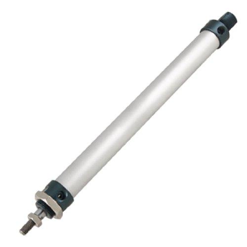 sourcingmap Einfach verschraubter Kolben, 20mmx200mm, doppelt wirkender Pneumatikzylinder