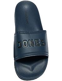 591b90a531517 Jack   Jones Men s Jfwlarry Pool Slider Navy Blazer Closed Toe Sandals