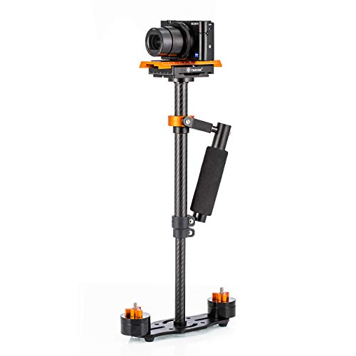 TARION® DSLR Stabilizer Handheld Stabilizers Supports Rig 0.4m Camera Stabilizer Rig Single Handle Arm DV DSLR (40cm)