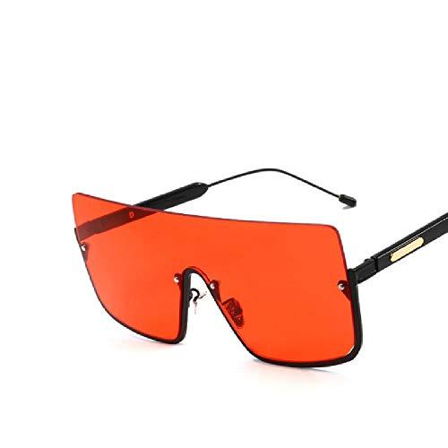 SIMINGSHUAI Sonnenbrillen Herren Damen Driving Sonnenbrillen Flat Top Big Frame Sonnenbrillen Brillen J C