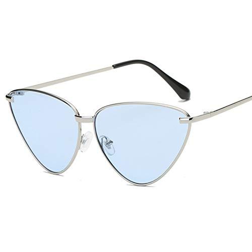 TIANZly Fashion Flat Top Cat Eye Sonnenbrille Lila Elegante Übergroße Sonnenbrille Damen UV400