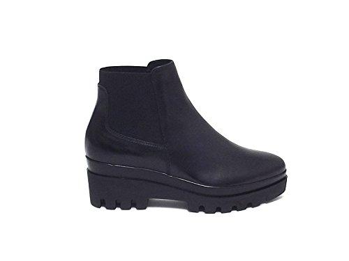 Stivale Janet sport donna, 38776, scarpa pelle nero nr 39 A6102