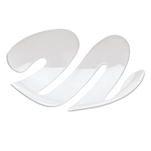 koziol Schale  Eve,  Kunststoff, weiß, 34 x 34,5 x 7,4 cm