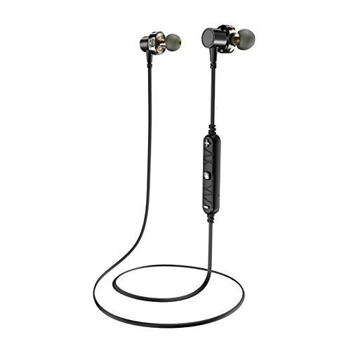 Awei Sportkopfhörer, Wasserdichte Kopfhörer, Bluetooth-Headset, Mini-Metal-Sportkopfhörer, Telefon Kopfhörer, Kopfhörer,Black