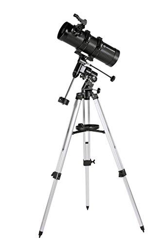 Bresser Spiegelteleskop Pluto EQ 114/500 mit Smartphone Adapter
