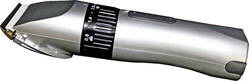 HKM Schermaschine Profi Akku, 12 Watt, 0,3 KG Leicht!, Silber/Schwarz