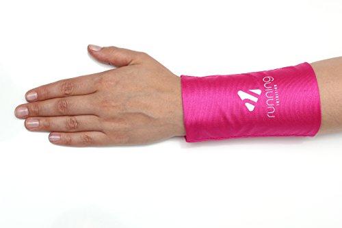 Phone Stretch: flexible Smartphonetasche für den Unterarm - passend für die meisten Smartphones - Joggen, Laufen, Fitness, Sport - Smartphone Armband, Handy Armtasche, Sportarmband, Handgelenktasche
