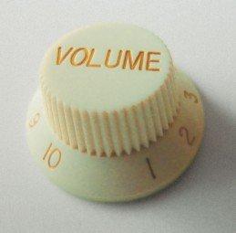 Göldo KBSVM Volume-Knopf für Strat / vintage mint