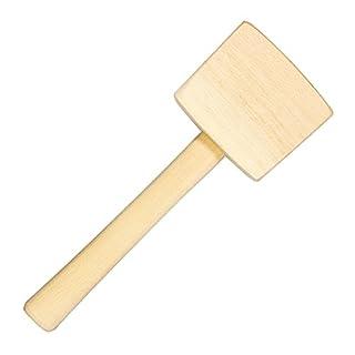 Holzhammer Schreinerknüppel Schreinerhammer 500 g eckig Klüpfel Holzklüpfel