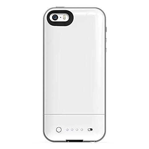 mophie juice pack air Compact Battery Case for iPhone 5 / 5S - White