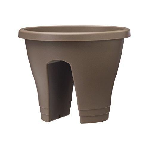 Ehlo Corse Pot de fleurs 30 cm taupe