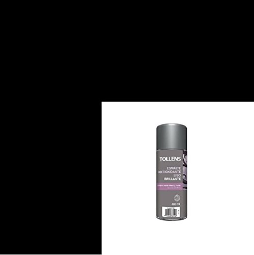 SPRAY ESMALTE ANTIOXIDANTE LISO BRILLANTE TOLLENS NEGRO 400 ML.