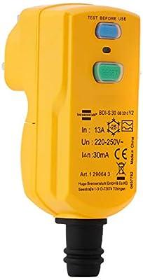 Brennenstuhl 1290643 Circuit breaker plug BDI-S 30