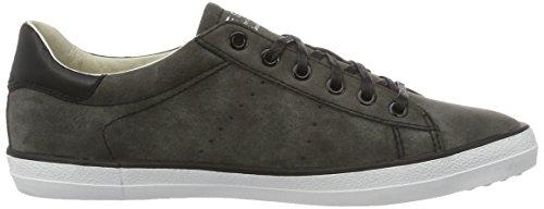ESPRIT Damen Miana Lace Up Sneakers Grau (black 001)