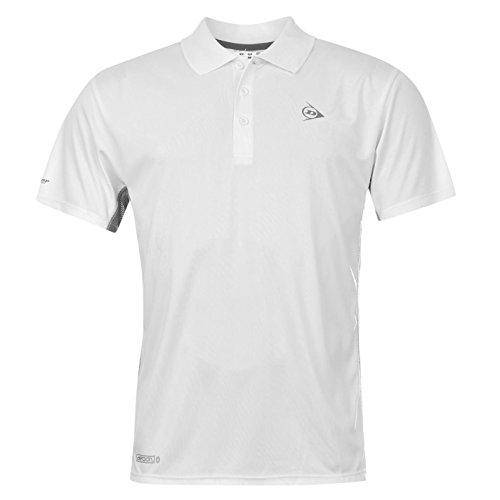Dunlop para hombre el estándar de rendimiento de Polo de manga corta de Tenis en la parte superior y manga corta T-camiseta de manga corta