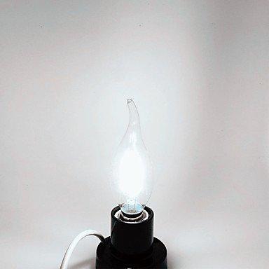 c35l 4w e14 vela de cristal edison 360lm Iluminación llevó la bombilla de filamento (220-240V) , cool white