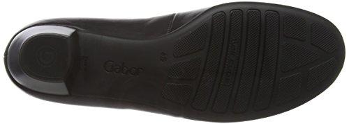 Gabor Pilot - Scarpe con Tacco donna Nero (Nero (Black Leather))