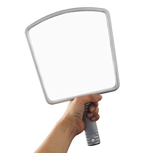 Miroir de coiffure à main professionnel de style professionnel de maquillage de miroir de vanité de style salon professionnel, 4 pièces
