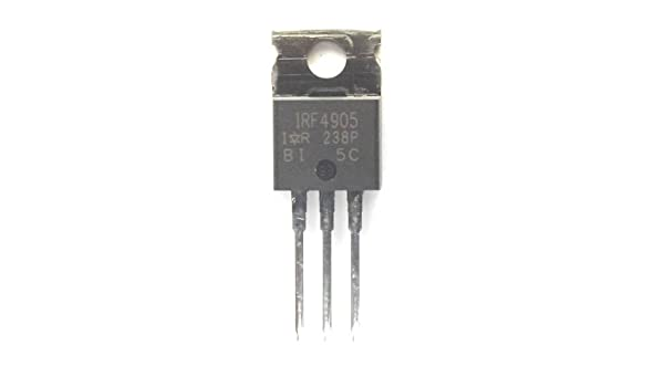 Irf4905/Irf4905pbf Trans Mosfet P-ch 55/V 64/A 3/broches To-220ab