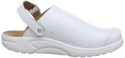 Ganter AKTIV Fabia, Weite F 5-202337-01000 Damen Clogs & Pantoletten Weiß (weiss 0200)