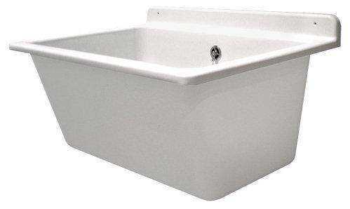 Sanit Waschtrog mit Überlauf, 1 Stück, weiß, 60.003.01..0099