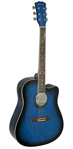 santander-western-guitarra-cutaway-pastilla-dreadnought-pre-amp-blueburst