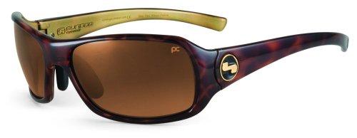 Sundog Paula Creamer Captiva Mela Objektiv Golf Sonnenbrille, Herren Damen, Deep Burgundy Crystal Frame