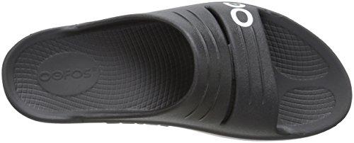 OOFOA #OOfos Damen Oolala Slide Sport-& Outdoor Sandalen Schwarz (Black)