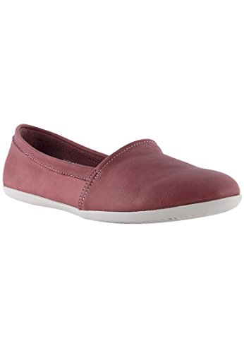 Softinos Damen Olu382sof Washed Geschlossene Ballerinas Rot (Red)