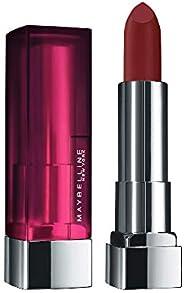 Maybelline New York Color Sensational Creamy Matte Lipstick, 696 Burgundy Blush, 3.9g
