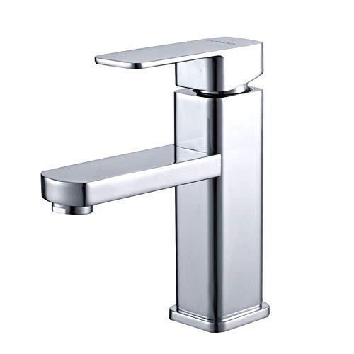 Haushalts-Kupfer heißen und kalten Wasserhahn einzigen Loch Becken Waschbecken Wasserhahn Waschbecken Wasserhahn