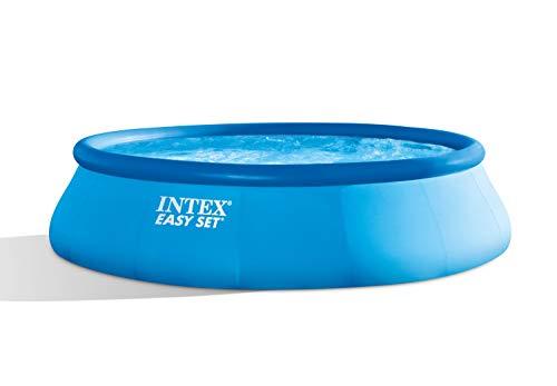 Intex piscina easy cm 396x84 28142 614, pvc, multicolore, 396 x 84 cm