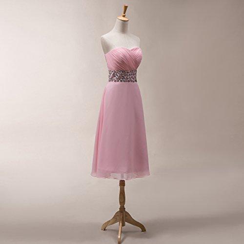 Bridal_Mall -  Vestito  - Senza maniche  - Donna Verde