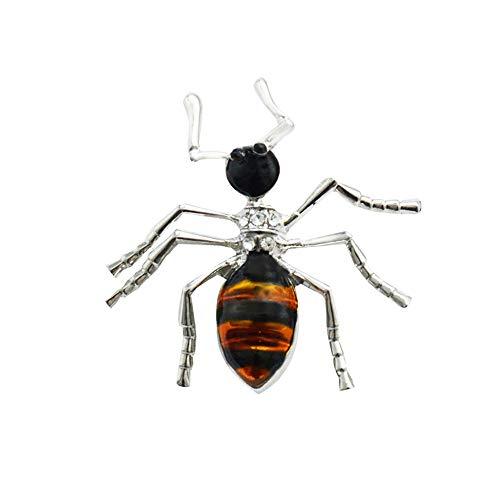 Meigold Insekt Brosche Ameise Käfer Brosche Unisex Brosche Bekleidungszubehör