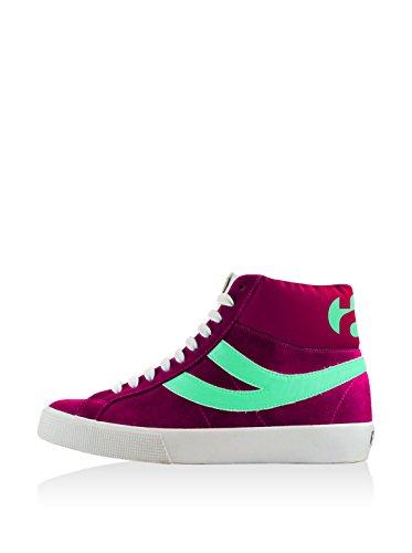 Superga , Baskets mode pour garçon Rose - Fuxia-Pastel Green