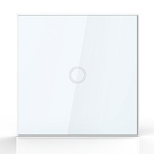 NEO Coolcam Z-Welle Wand Lichtschalter 1CH Gang Z Welle Wireless Smart Fernbedienung EU Lichtschalter Hausautomation (Ferngesteuerte Lichtschalter)