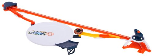 Mattel Hot Wheels Y0097 - Spinshotz Super Wettkampf-Arena, inklusive 1 Disc