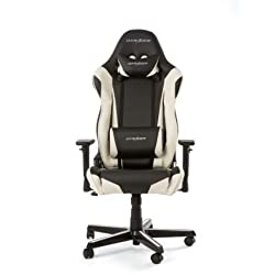 DX Racer OH / RZO / NW Gaming Chair, Black / White