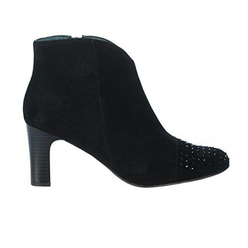 Boots femme - KARSTON - Noir - 48412603 - Millim Noir