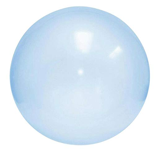 Ballonbälle langlebig und transparent Amazing Bubble Ball Wassergefüllte interaktive Gummibälle, ideal für Aktivitäten im Freien (Blau) ()