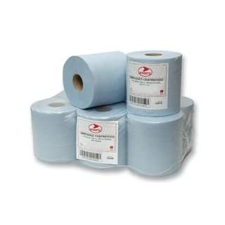 Cutting-Edge ANDARTA - 21-002 - BLUE ROLL, 1PLY, 300M ROLL - - Pack of 6 - [Manufacturer's OEM Packaging]