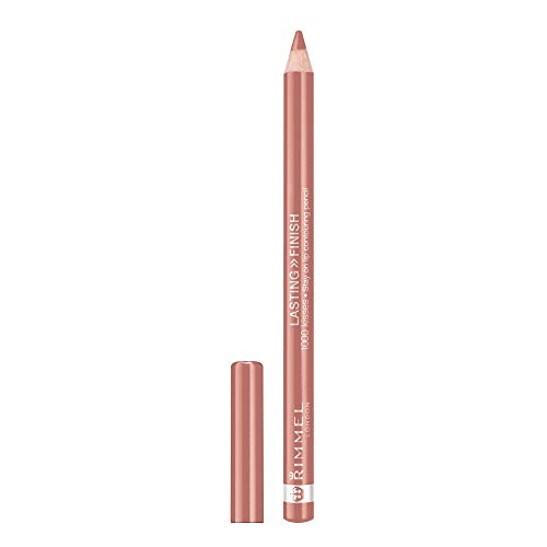 RIMMEL LONDON Lasting Finish 1000 Kisses Stay On Lip Liner Pencil - Natural (Lip Pencil Beste)