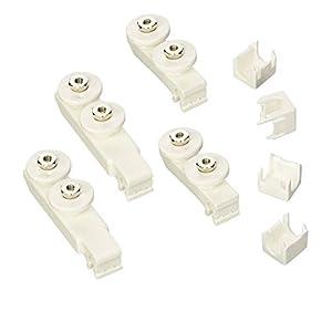 ROCA Kit Rodamientos para Mampara Supra Blanco – AM99086201