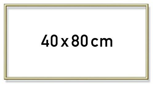 Schipper 605130708 605130708-Malen nach Zahlen Alurahmen, 40 x 80 cm, Gold