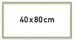 Noris Spiele 605130708 - Schipper Pintura por números Marco de Aluminio, 40 x 80 cm
