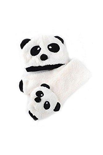 TOOGOOR-Bebe-Enfants-Garcon-Filles-Tricot-Crochet-Bonnet-Hiver-Chaud-Bonnet-Chapeau-Echarpe-Chale-Laiteux