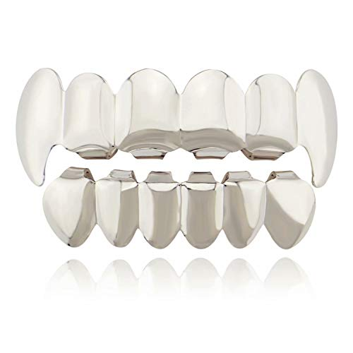 Sunrise-EU Sunrise-EU Unisex HIP POP 1 Set Teeth Grills für den Mund Oben unten