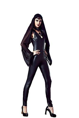 SEXY-MAN Catwoman Kostüm Cat Woman Superheld Kostüm Damen Catwoman Kostüm Katze Cosplay Jumpsuit für Fasching Halloween ()